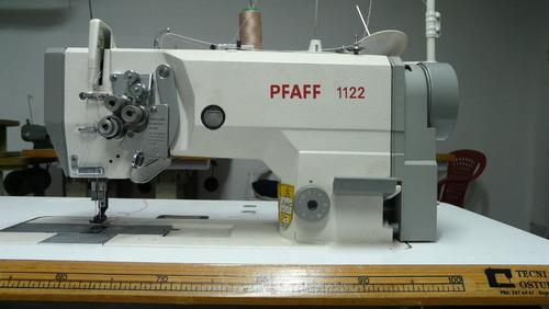 maquina pfaff dos agujas original en buen estado