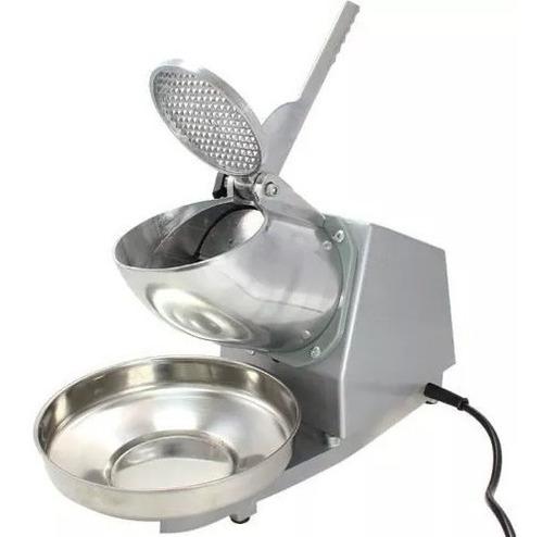 maquina pica hielo cromo plato inox electrica 110v