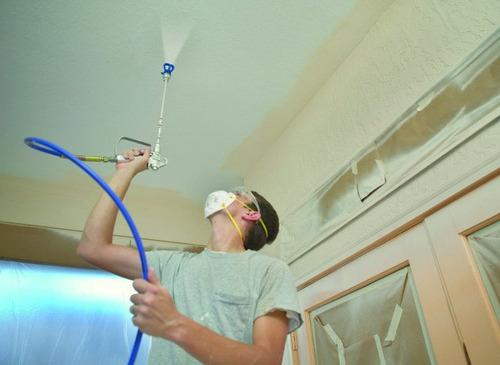 maquina pintar airless alquiler, venta y servicio de pintado
