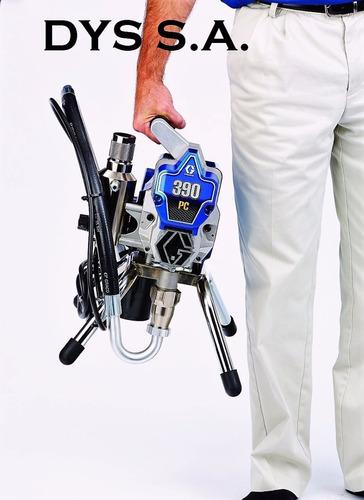máquina pintar electrica sin aire graco 390 pc original