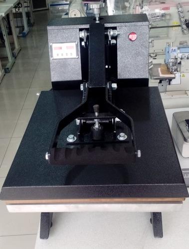 maquina plancha transfer estampados de polos y sublimados