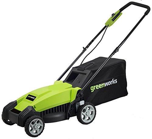 maquina podadora de césped greenworks mo14b00 9