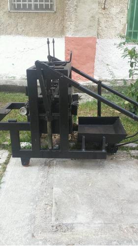maquina ponedora de hacer bloques