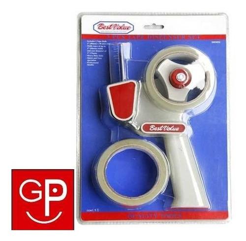 maquina porta cinta con 2 rollos best value g p