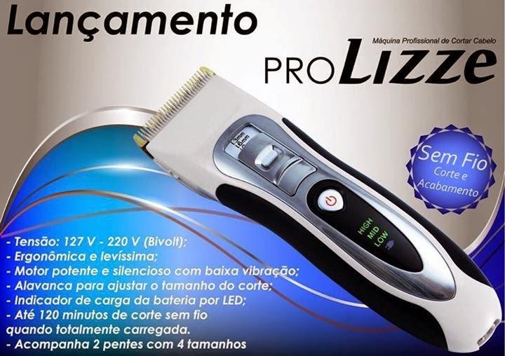 bef53a2ed Máquina Pro Lizze Original Bivolt Profissional Corte Cabelo - R$ 339,99 em  Mercado Livre