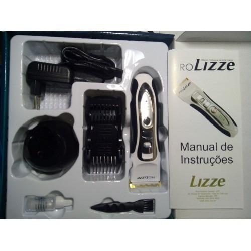 a3cbf296f Máquina Pro Lizze Original Bivolt Profissional Corte Cabelo - R$ 339 ...