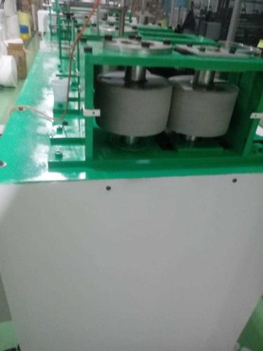 máquina produção de touca e propé descartável  tnt