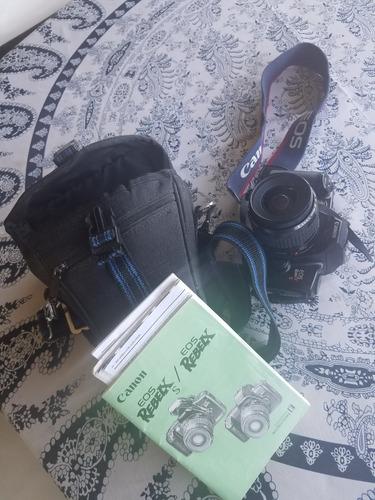 maquina profesional de fotos canon reflex antigua de rollo