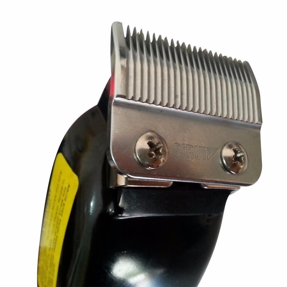 44c90e518 Máquina Profissional De Cortar Cabelo E Barba Qirui Qr-089 - R$ 79,99 em  Mercado Livre