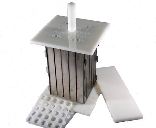 máquina profissional inox 25 espetos com divisórias+brindes