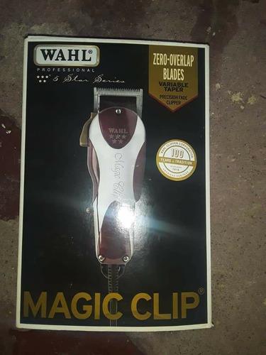 máquina profissional seminovo wahl magic clip,