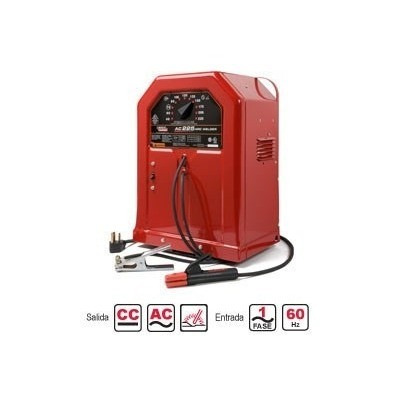 maquina p/soldar lincoln ac-225 capilla w220 stick welder