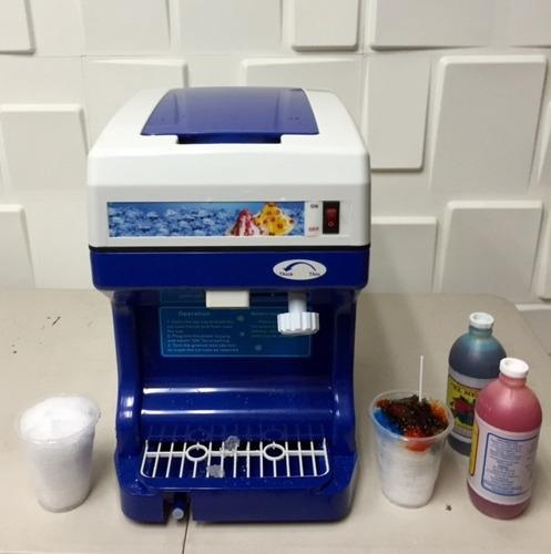 maquina raspados- cholados- 264 lbs x hora envio gratis