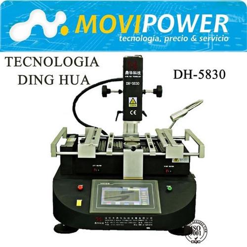maquina reballing dh-5830 +estenciles+soldadura