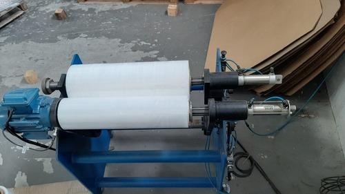 máquina rebobinadora de filme stretch