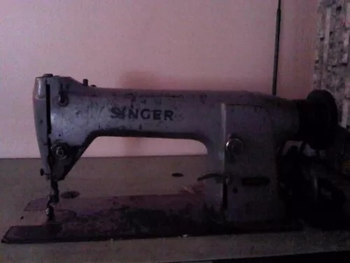 maquina recta industrial singer