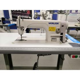 Máquina Recta Industrial Worlden, Completa