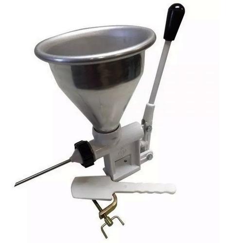 maquina rellenar churros manual