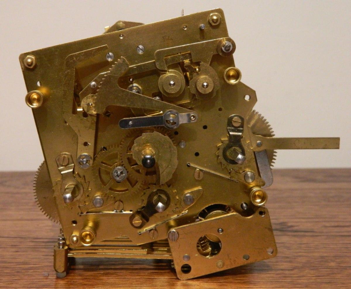 Maquina reloj de pendulo kienninger j1204 alemana - Maquinaria de reloj de pared con pendulo ...