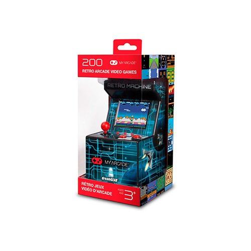 máquina retro de videojuegos my arcade