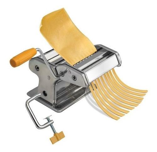 maquina rodillo para hacer pasta espagueti linguini alfredo