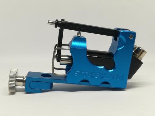 maquina rotativa stealth blue tattoo & tatuaje