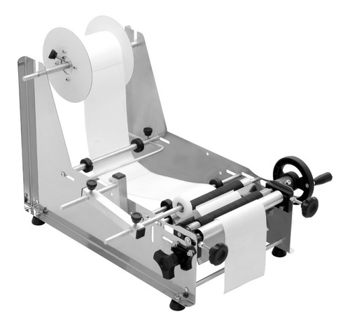 maquina rotuladora manual aço inox bebidas