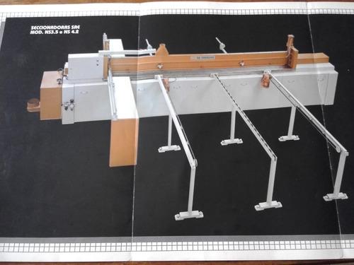 máquina seccionadora para marcenaria
