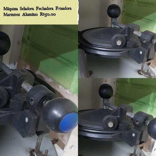 máquina seladora fechadora manual