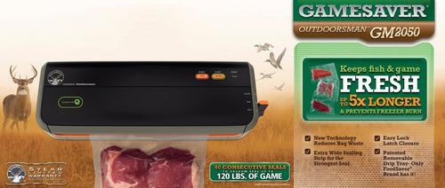 maquina selladora al vacio foodsaver gm2050-000 manual
