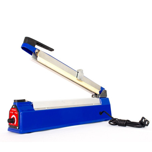 máquina selladora de bolsas 30cm con cortador integrado dili