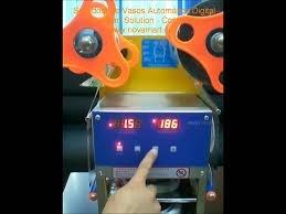 maquina selladora de vasos automatica