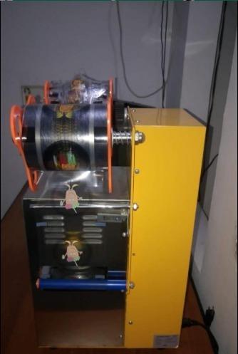 maquina selladora de vasos automática