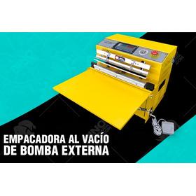 Maquina Selladora Empacadora Al Vacio Con Bomba Externa