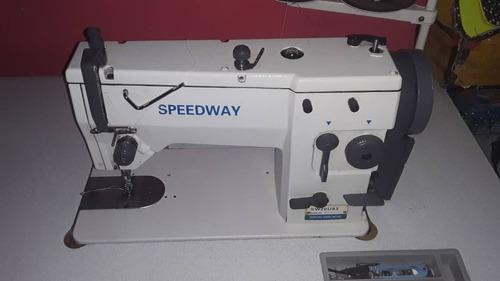 maquina semi industrial speedway modelo 20 u usada