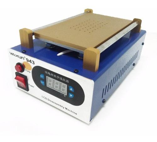 maquina separadora de lcd e touch tela yaxun 943