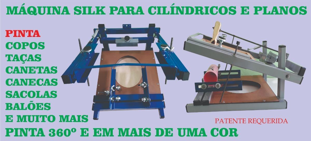 Máquina Serigrafia Silk. Copos c131b2d409a