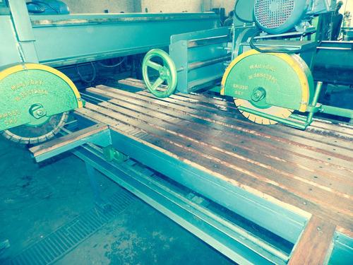 maquina serra de cortar mármore e chapas de granito