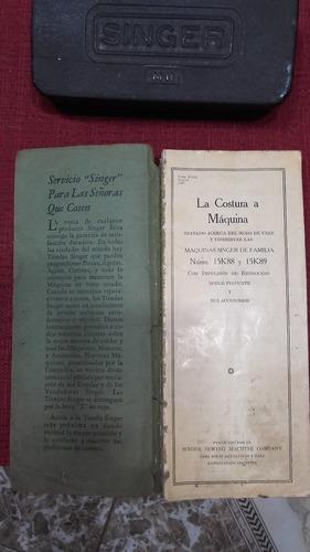 maquina singer 1939 clydebank escocia completa s/entendidos