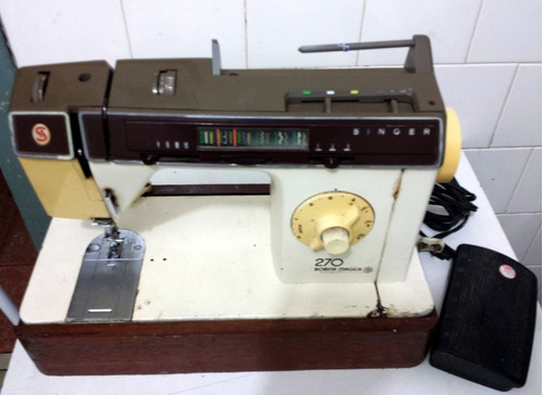 máquina singer 270 bobina magica