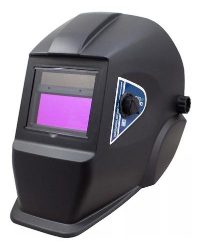 máquina solda inversora gp-165 a bivolt + máscara automática
