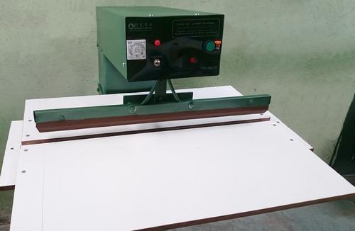 maquina solda lona - barra reta - 127 volts