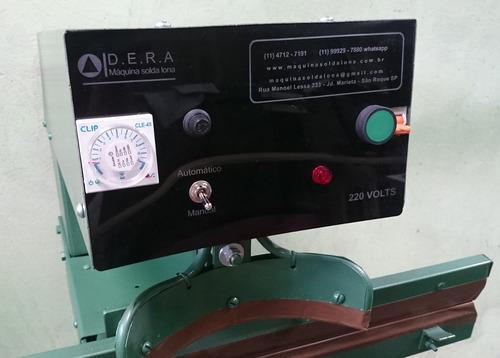 máquina solda lona - barra reta e curva - 127 volts