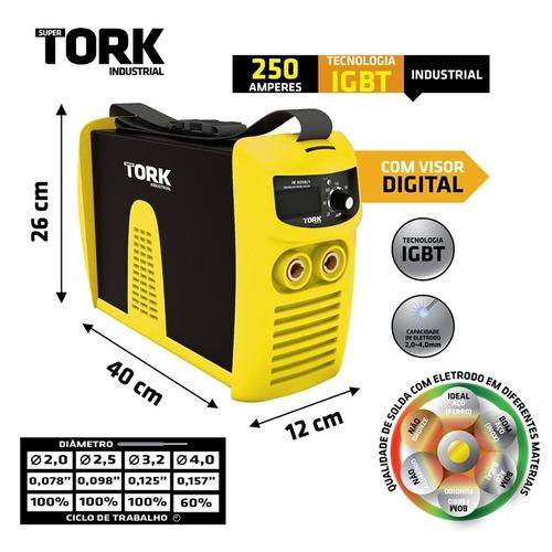 máquina solda tork