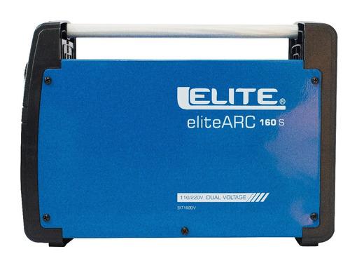 maquina  soldar 110-220v / 160a - elite arc 160s + careta