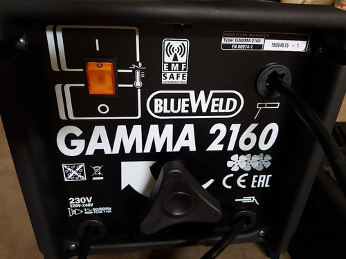 maquina soldar al arco profesional 160 amp (made in italy)