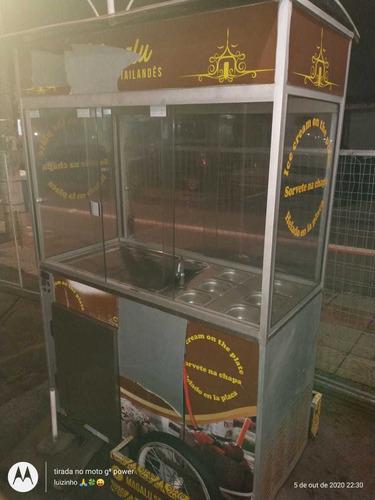 máquina sorvete tailandes