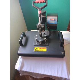 Maquina Sublimadora 8en1 30x40 + Impresora + Tintas + Papel