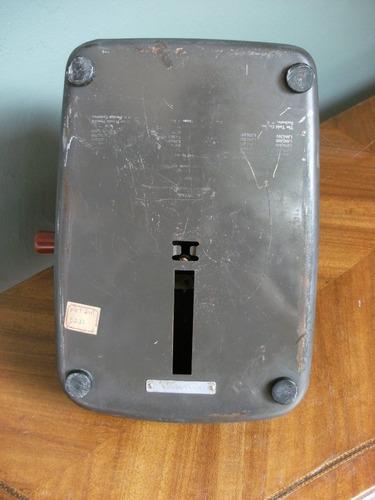 maquina sumadora antigua marca todd model 60 u.s.a.
