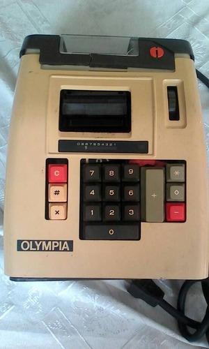 maquina sumadora marca olimpia usado